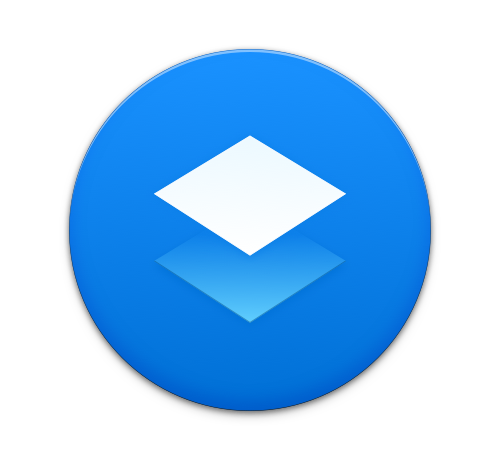 Paper blue replacement icon
